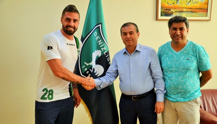 Denizlispor Andre Moritz transferini bitirdi