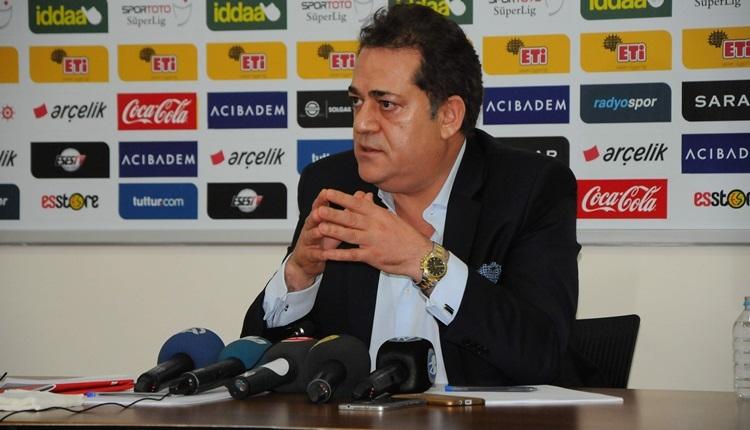 Eskişehirspor'da Halil Ünal aday olmayacağını açıkladı