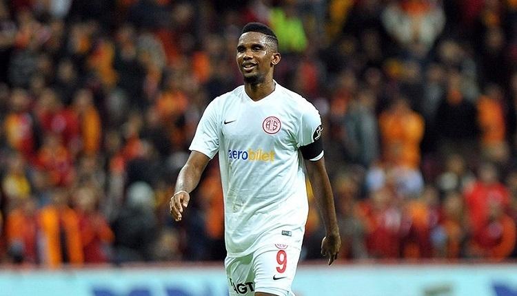 Fenerbahçe Eto'o transferi sonrası Antalyaspor taraftarı ayaklandı