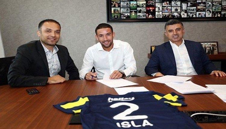 Fenerbahçe, Mauricio Isla ile 3 yıllık sözleşme imzaladı