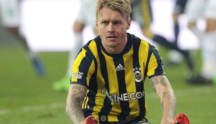 Fenerbahçe taraftarına Simon Kjaer müjdesi