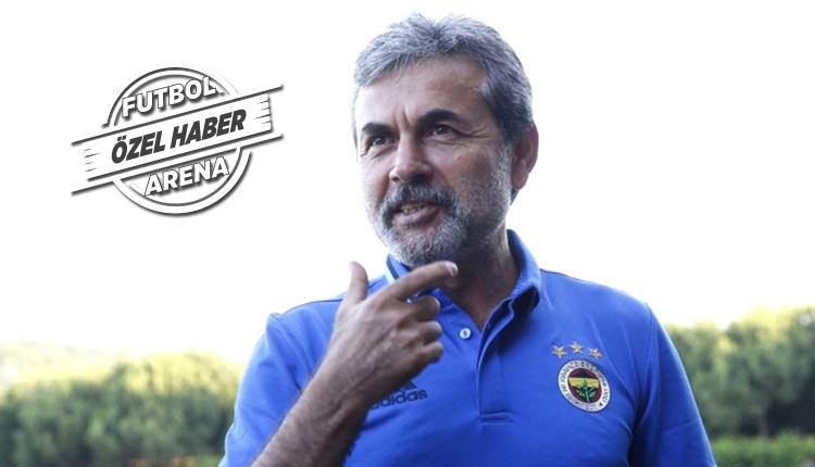 Fenerbahçe'de Aykut Kocaman'ın oyun planına FutbolArena ulaştı