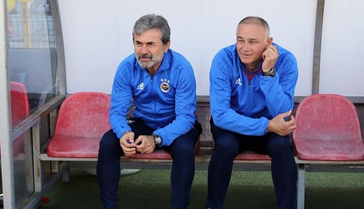 Fenerbahçe'de Aykut Kocaman: 'Yenildik ama değerli bir maçtı'