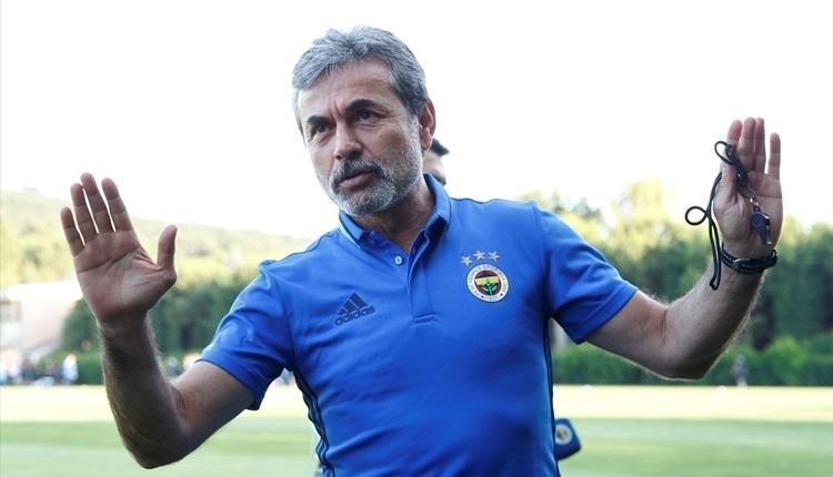 Fenerbahçe'de Aykut Kocaman'dan Sturm Graz maçı açıklamaları