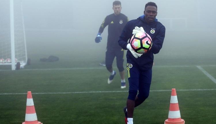 Fenerbahçe'de Kameni ilk idmanına çıktı