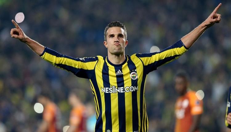 Fenerbahçe'de Robin van Persie, Aykut Kocaman'ın gözüne girdi