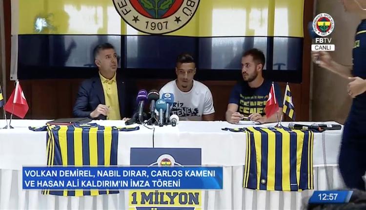 Fenerbahçe'den transferlere toplu imza şov