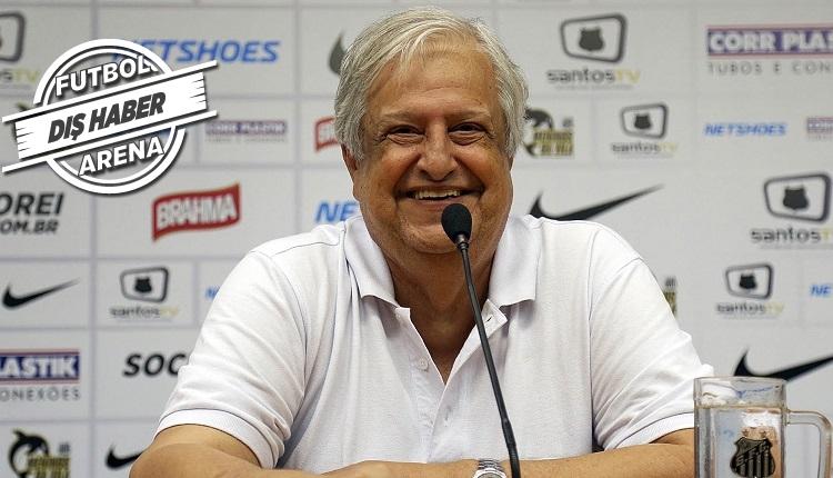 Fenerbahçe'nin Lucas Lima transferine Santos Başkanı Modesto'dan cevap!