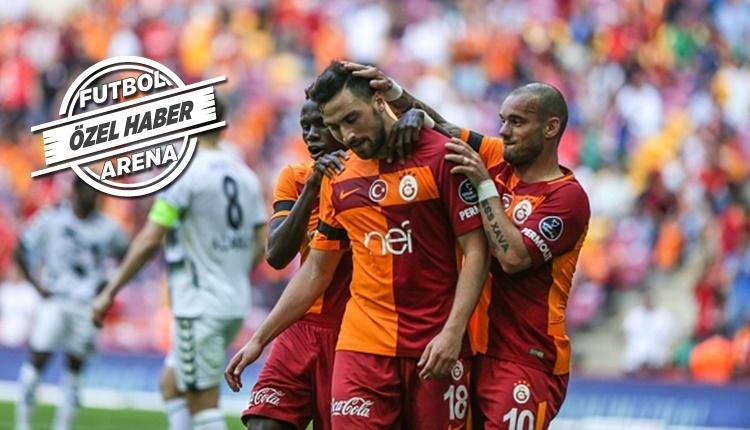 Galatasaray taraftarları ile Sinan Gümüş arasında ilginç atışma