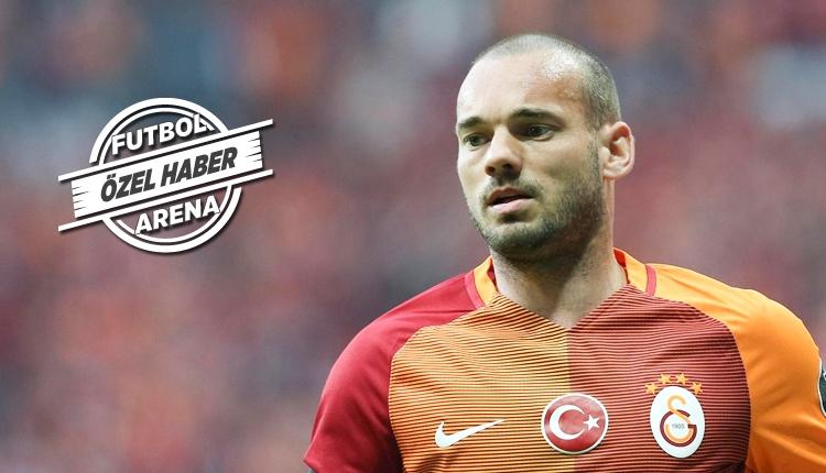 Galatasaray, Wesley Sneijder'ın sözleşmesini feshedecek mi?
