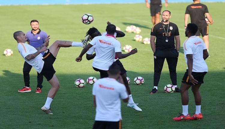 Galatasaray yeni sezon hazırlıklarını sürüyor