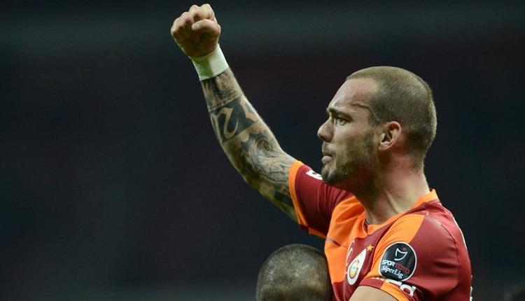Galatasaray'da Sneijder'den büyük müjde! Sosyal medyadan açıkladı