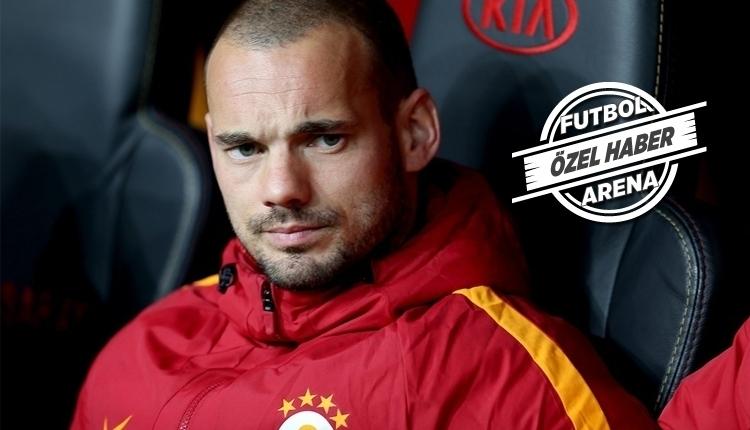 Galatasaray'da Sneijder zirvesinde son durum