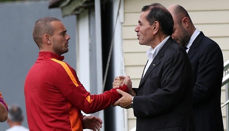 Galatasaray'da Dursun Özbek'ten Wesley Sneijder'e: