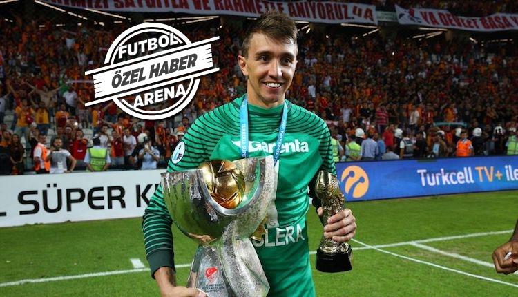 Galatasaray'da Fernando Muslera endişesi! Gidiyor mu?