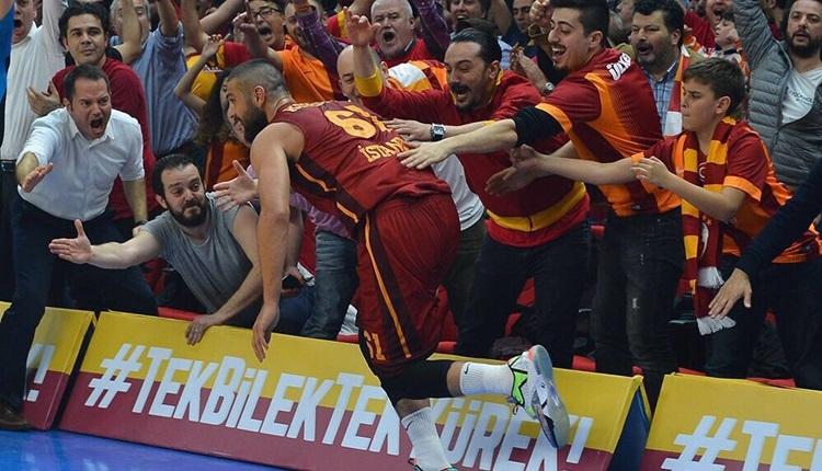 Galatasaray'da Göksenin Köksal'dan Sinan Güler'e gönderme