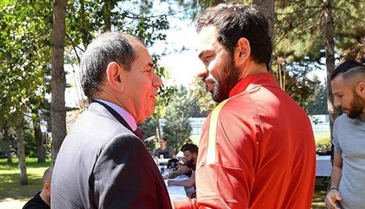 Galatasaray'da kritik toplantı! Cenk Ergün, Dursun Özbek ve Selçuk İnan