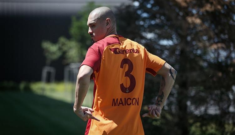Galatasaray'da Maicon: ''Formanın hakkını vermeliyim''