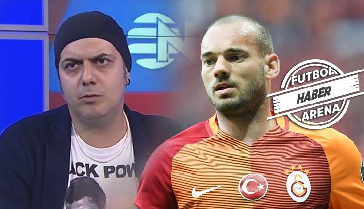 Galatasaray'da Sneijder krizine Ali Ece isyan etti!