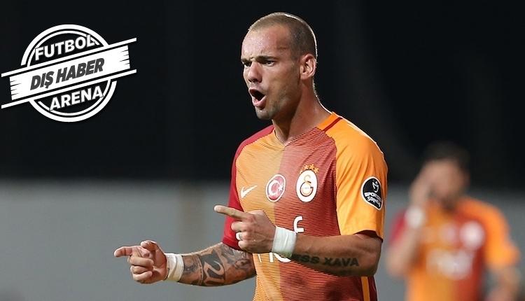 Galatasaray'da Sneijder transferinde son dakika! Karar...