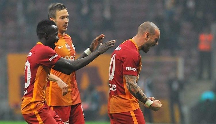 Galatasaraylı Sneijder, Hollanda'da transfer sorusuna cevap verdi