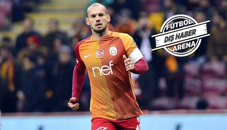 Galatasaray'da Sneijder'e Milan'dan transfer cevabı
