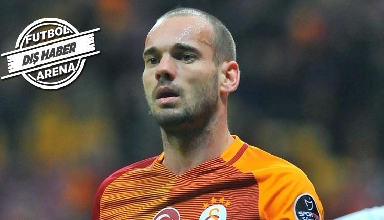 Galatasaray'da Sneijder'in ayrılığı sonrası Hollanda basını ayağa kalktı