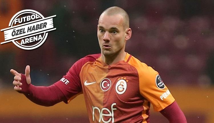 Galatasaray'da Sneijder'in sözleşme fesih şartları