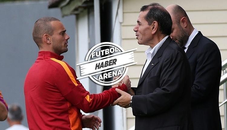 Galatasaray'da Wesley Sneijder ayrılığı açıklanacak