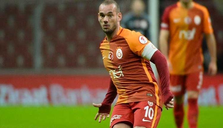 Galatasaray'da Wesley Sneijder defteri kapanıyor! Son görüşme...