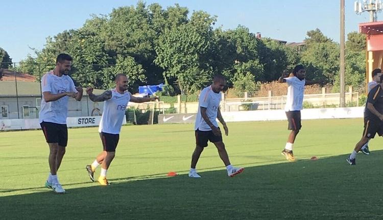 Galatasaray'da Wesley Sneijder gelişmesi