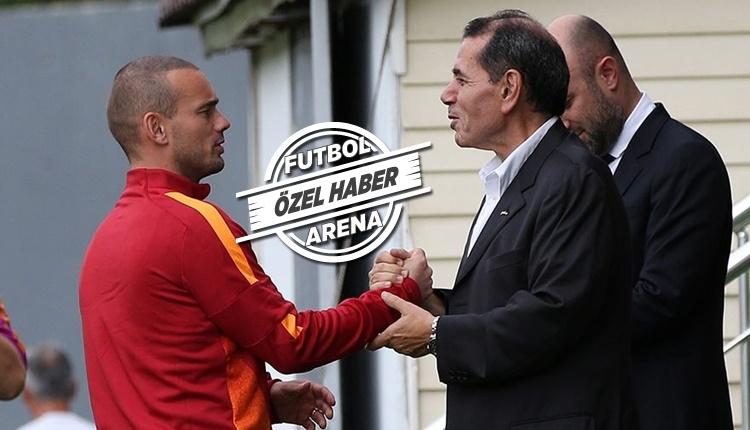 Galatasaray'da Wesley Sneijder için kritik zirve