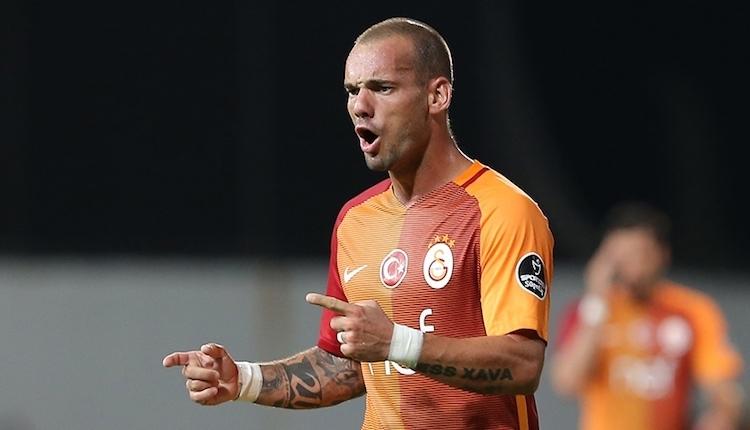 Galatasaray'da Wesley Sneijder ile yollar bugün ayrılıyor iddiası