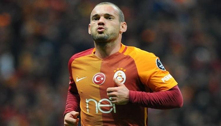 Galatasaray'da Wesley Sneijder yorumu 'Madem kulübü seviyor, indirime gitsin'