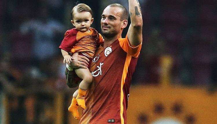 Galatasaray'dan ayrılan Sneijder'den Mert Çetin'e duygusal veda: