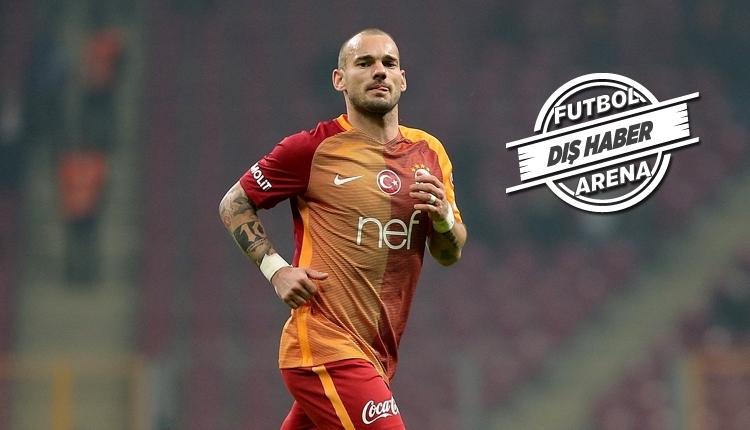 Galatasaray'dan ayrılan Sneijder'e sürpriz transfer teklifi