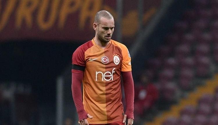 Galatasaraylı Sneijder'e eski Beşiktaşlı futbolcudan destek: