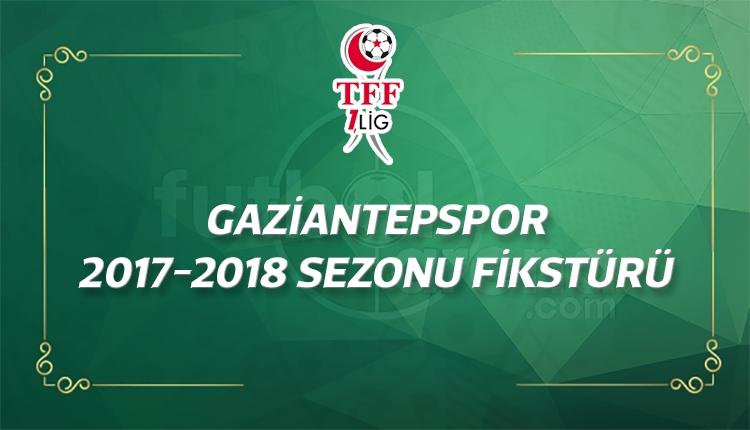 Gaziantepspor'un 2017-2018 sezonu fikstürü - Gaziantepspor maçları