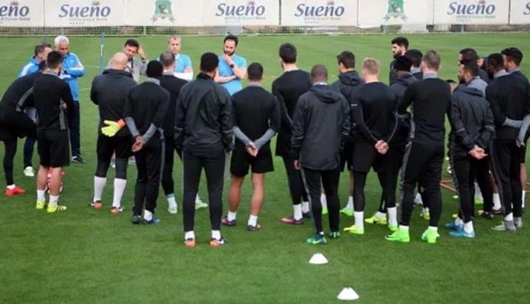 Gaziantepspor'un antrenmanında çarpıcı karar
