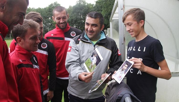 Gençlerbirliği'nde yeni transferler idmana çıktı