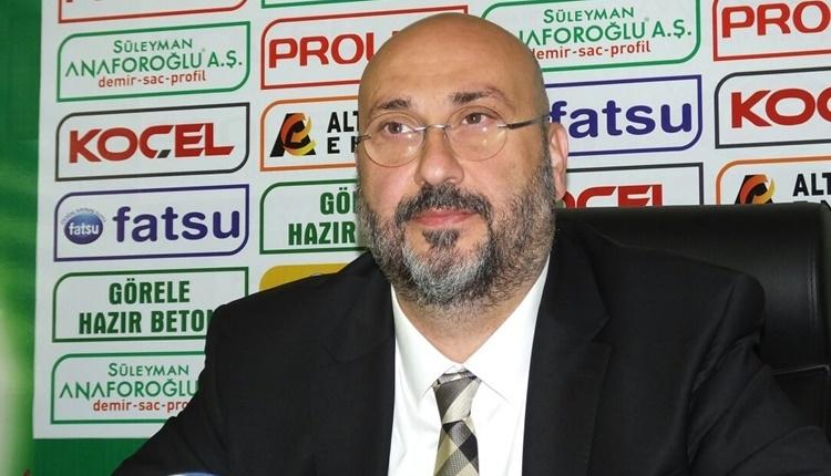 Giresunspor'da transfer açıklaması