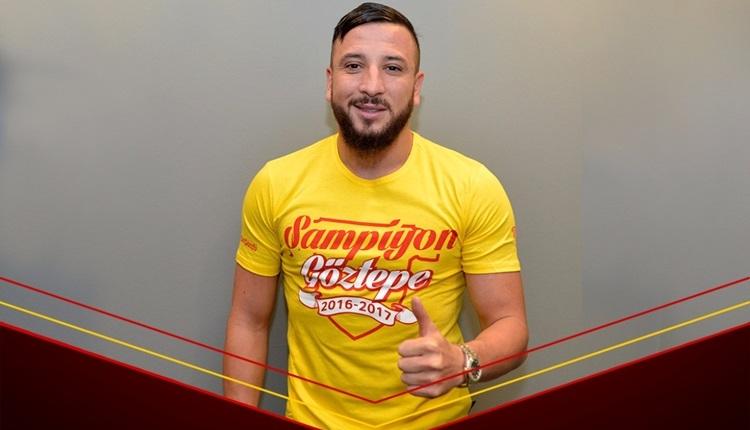 Göztepe, Nabil Ghilas ile sözleşme imzaladı