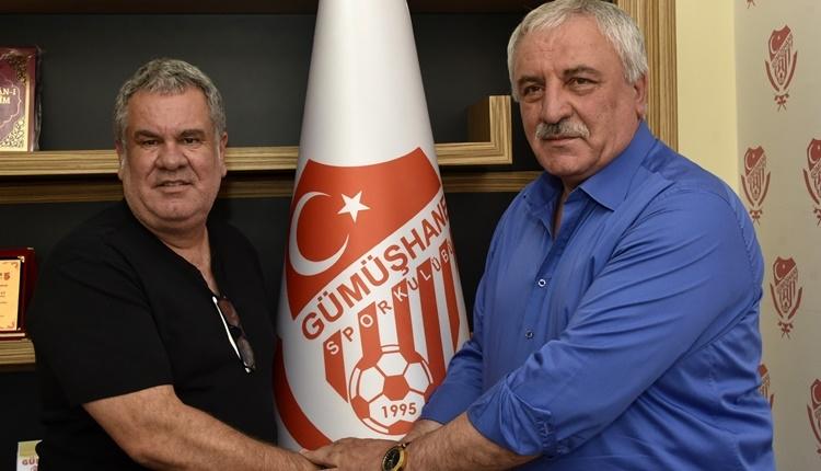 Gümüşhanespor'un yeni teknik direktörü Levent Eriş'ten şampiyonluk sözü