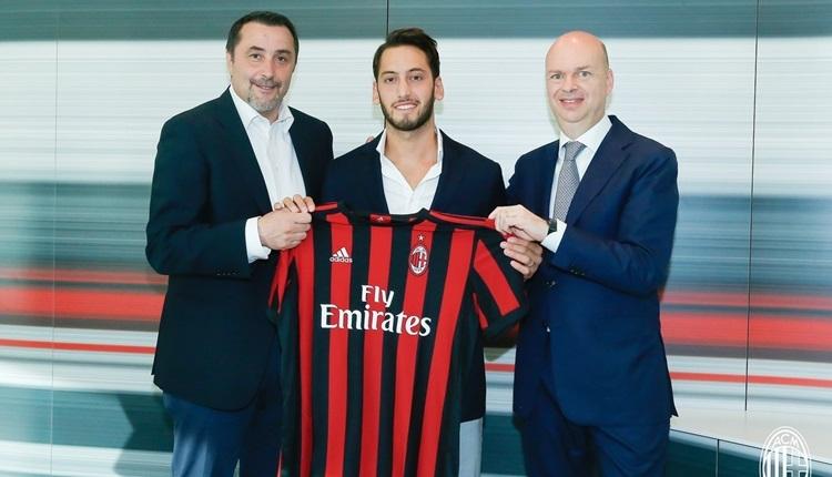 Hakan Çalhanoğlu'dan Milan transferi açıklaması