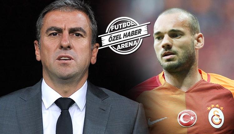 Hamza Hamzaoğlu'ndan Wesley Sneijder yorumu