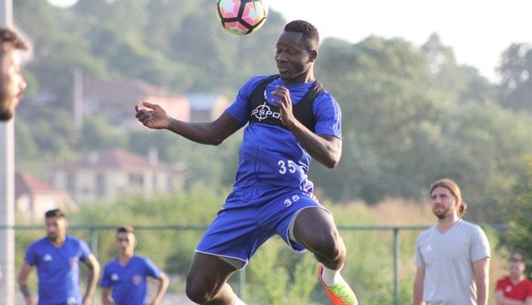 Karabükspor'un yeni transferi Hamidou Traore meydan okudu