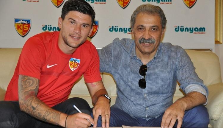 Kayserispor, Cristian Sapunaru ile sözleşme imzaladı