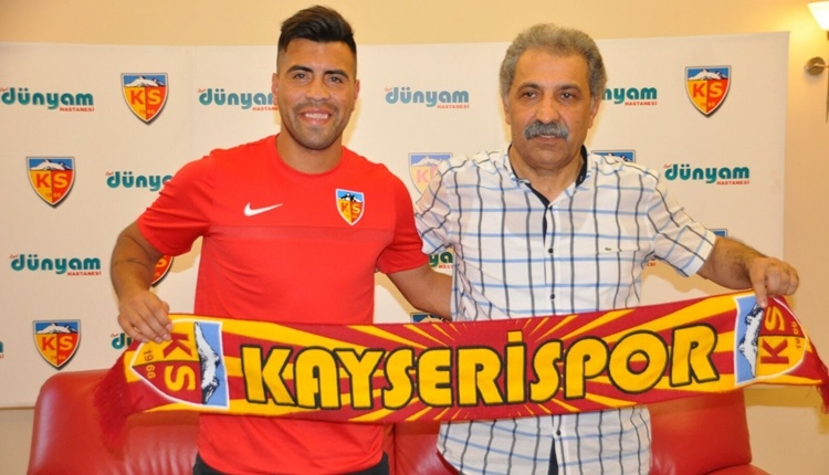 Kayserispor, Gonzalo Espinoza transferini resmileştirdi