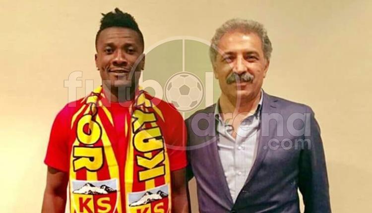 Kayserispor, Gyan Asamoah'ı resmen transfer etti