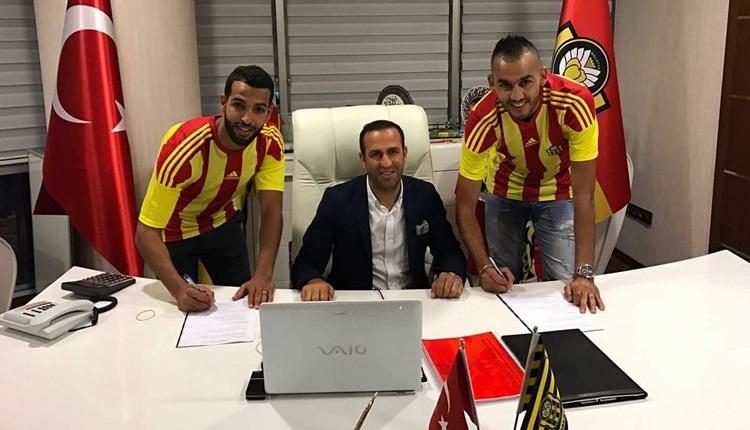 Yeni Malatyaspor, Khalid Boutaibi ve Issam Chebake ile sözleşme imzaladı